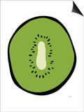 Green Kiwi Posters by  Avalisa