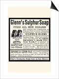 Glenn's Sulphur Soap Print