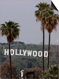 Hollywood Sign Prints by Mark J. Terrill