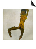 Egon Schiele, Self-Portrait, Nude Print by Egon Schiele