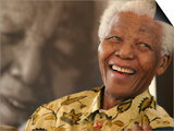 Nelson Mandela Posters by Denis Farrell