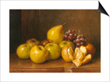 Stilll Life of Fruit Prints by Giuseppe Falchetti