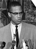 Malcolm X Anniversary Prints by  Anonymous