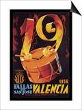 Fallas de San Jose Valencia Prints