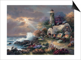 Heaven's Light Prints by James Lee