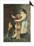 Naughty Boy! Art by Charles Burton Barber