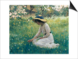Spring Flowers Prints by Arthur Hacker