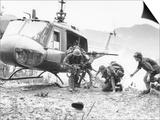 Vietnam War Hamburger Hill US Wounded Prints by  Associated Press