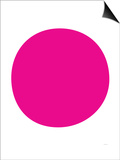 Pink Circle Prints by  Avalisa