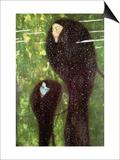 Mermaids Posters by Gustav Klimt