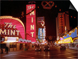 Vegas Strip Lights 1973 Posters