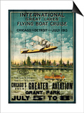 Great Lakes Flying Boats Art by Kate Ward Thacker