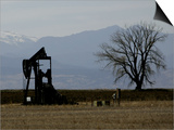 Oil Prices Art by Ed Andreiski