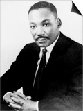 Martin Luther King Poster by  Associated Press
