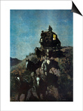The Old Stage Coach of the Plains Prints by Frederic Sackrider Remington