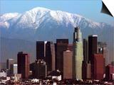 Los Angeles Mount Baldy Print by Nick Ut