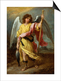 The Archangel Raphael Poster by Bartolome Esteban Murillo