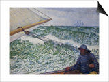 The Man at the Helm Prints by Theo van Rysselberghe