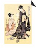 Upper Class Women Prints by Kitagawa Utamaro