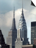 Chrysler Building Prints by Richard Drew
