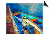Boats And Pier Prints by Boyan Dimitrov