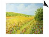 Sea Of Blossom Posters af kirilstanchev
