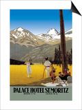 Palace Hotel St. Moritz Prints