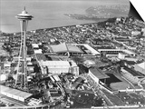 This is a Photo of Seattle During the World's Fair Prints
