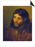 The Head of Christ Prints by  Rembrandt van Rijn