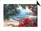 Tropical Hideaway Poster by Nenad Mirkovich