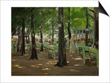 De Oude Vinck, Garden Restaurant in the Outskirts of Leiden, Netherlands, 1905 Art by Max Liebermann