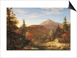 The Hunter's Return Print by Thomas Cole