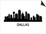 Skyline Dallas Art by  unkreatives