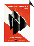 Hamburg-Amerika Cruise Line Prints