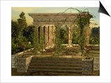 Greek Temple Prints by Atelier Sommerland