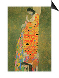 Abandoned Hope Láminas por Gustav Klimt