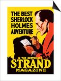 Best Sherlock Holmes Adventure Plakater