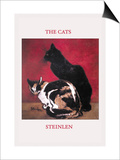 The Cats Prints by Théophile Alexandre Steinlen