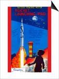 Rocket Launching Pad Prints