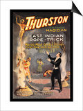 East Indian Rope Trick: Thurston the Famous Magician Posters
