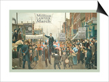 Million Lawyer March Pósters