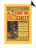 Beeton's Christmas Annual- A Study in Scarlet Posters