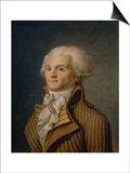 Portrait of Maximilien Robespierre Prints