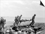 WWII Iwo Jima U.S. Invasion Posters by Joe Rosenthal