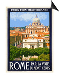 St. Peter's Basilica, Roma Italy 6 Posters by Anna Siena