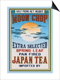 Moon Chop Tea Art