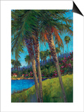 Palm Trees Posters by Kairong Liu