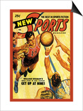 Sports Magazine: Basketball Prints