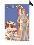 Athens 50's Fashion Tour I Posters