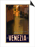 Canal in Venice Italy 1 Art by Anna Siena